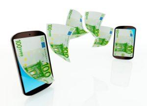 Telefoon met geld